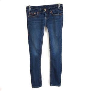 Seven7 Low Rise Skinny Jeans Size 27
